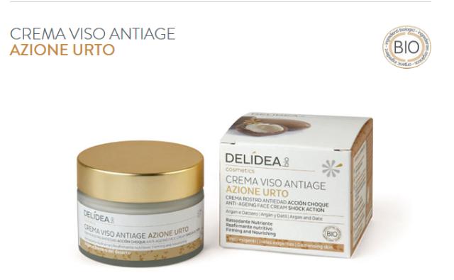 Crema viso antietà Delidea Bio