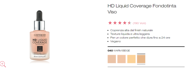 HD liquid coverage